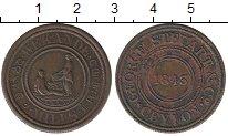 Изображение Монеты Шри-Ланка Цейлон 19 центов 1843 Медь XF-