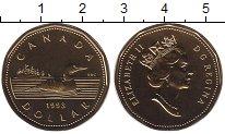 Изображение Монеты Канада 1 доллар 1993 Латунь UNC