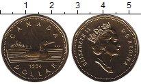 Изображение Монеты Канада 1 доллар 1994 Латунь UNC Елизавета II