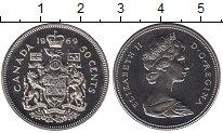 Изображение Монеты Канада 50 центов 1969 Медно-никель UNC