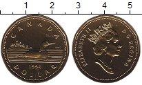 Изображение Монеты Канада 1 доллар 1994 Латунь UNC