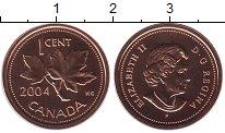 Изображение Монеты Канада 1 цент 2004 Бронза UNC