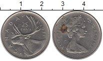 Изображение Монеты Канада 25 центов 1971 Медно-никель XF