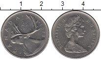 Изображение Монеты Канада 25 центов 1978 Медно-никель XF Елизавета II