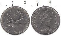 Изображение Монеты Канада 25 центов 1985 Медно-никель XF