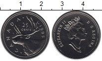 Изображение Монеты Канада 25 центов 1995 Медно-никель UNC Елизавета II