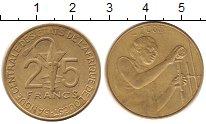 Изображение Монеты Западно-Африканский Союз 25 франков 2005 Латунь XF
