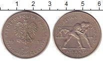 Изображение Монеты Польша 2 злотых 1995 Медно-никель XF Олимпиада в Атланте