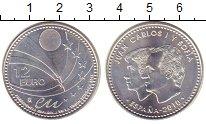 Изображение Монеты Испания 12 евро 2010 Серебро UNC