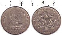 Изображение Монеты Нигерия 1 найра 1991 Медно-никель XF Герберт  Магаулэй
