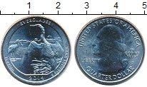 Изображение Мелочь США 1/4 доллара 2014 Медно-никель UNC- D. Национальный парк