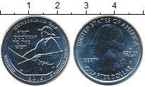 Изображение Мелочь США 1/4 доллара 2016 Медно-никель UNC-