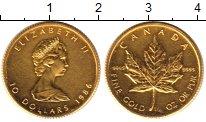 Изображение Монеты Канада 10 долларов 1986 Золото UNC