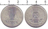 Изображение Монеты ГДР 1 марка 1977 Алюминий UNC-