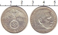 Изображение Монеты Третий Рейх 2 марки 1939 Серебро XF A