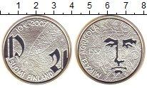 Изображение Монеты Финляндия 10 евро 2007 Серебро Proof
