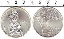 Изображение Монеты Финляндия 10 евро 2011 Серебро UNC