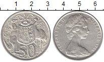 Изображение Монеты Австралия 50 центов 1966 Серебро XF+