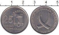 Изображение Монеты Экваториальная Гвинея 25 песет 1969 Медно-никель UNC-