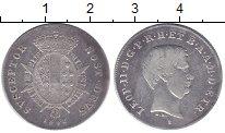 Старинная итальянская монета из тосканы