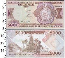 Изображение Боны Вануату 5000 вату 2000  UNC-