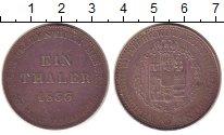 Монета Гессен-Кассель 1 талер Серебро 1833 XF-