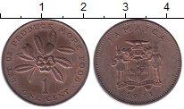 Изображение Монеты Ямайка 1 цент 1971 Медь UNC