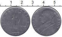 Изображение Монеты Ватикан 100 лир 1956 Сталь UNC