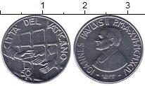 Изображение Монеты Ватикан 50 лир 1994 Железо UNC