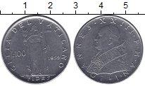 Изображение Монеты Ватикан 100 лир 1959 Сталь UNC