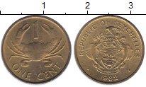 Изображение Монеты Сейшелы 1 цент 1982 Латунь UNC