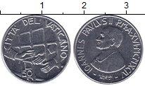 Изображение Монеты Ватикан 50 лир 1994 Сталь UNC