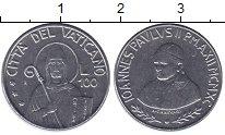 Изображение Монеты Ватикан 100 лир 1990 Сталь UNC