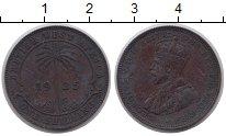 Изображение Монеты Западная Африка 1 шиллинг 1925 Медь VF