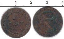 Изображение Монеты Франция 10 сантимов 1808 Серебро VF