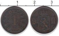 Изображение Монеты Норвегия 1 эре 1889 Медь XF