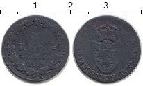 Изображение Монеты Нассау 1/4 крейцера 1809 Медь VF
