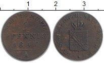 Изображение Монеты Саксен-Веймар-Эйзенах 1 пфенниг 1840 Медь VF