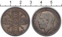 Изображение Монеты Великобритания 1 флорин 1923 Серебро XF-