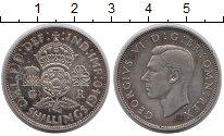 Изображение Монеты Великобритания 2 шиллинга 1940 Серебро XF-
