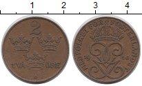 Изображение Монеты Швеция 2 эре 1916 Бронза XF