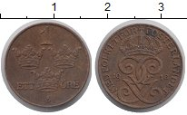 Изображение Монеты Швеция 1 эре 1916 Бронза XF