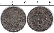 Изображение Монеты Португалия 2 1/2 эскудо 1933 Серебро VF