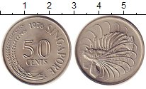 Изображение Монеты Сингапур 50 центов 1976 Медно-никель UNC