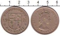 Изображение Монеты Маврикий 1 рупия 1971 Медно-никель XF