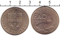Изображение Монеты Португалия 25 экскудо 1983 Медно-никель UNC-