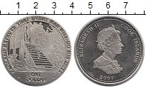 Изображение Монеты Острова Кука 1 доллар 2007 Медно-никель UNC