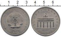Изображение Монеты ГДР 20 марок 1990 Медно-никель UNC