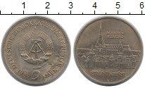 Изображение Монеты ГДР 5 марок 1989 Медно-никель UNC- Кирха  Святой  Марии