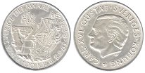 Изображение Монеты Швеция 100 крон 1988 Серебро UNC